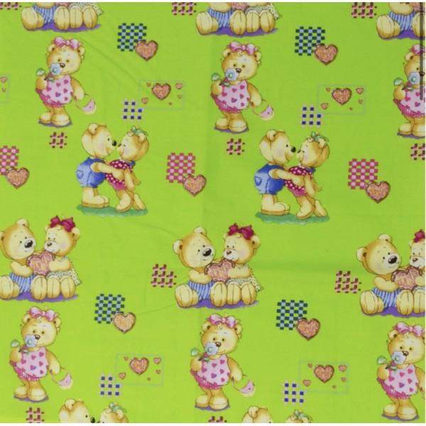 Детское постельное белье  Вилюта 4457 зеленый