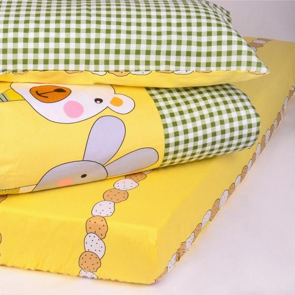 Детское постельное белье сатин-твил 466