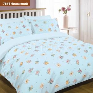 Детское постельное белье  Вилюта 7618  голубой