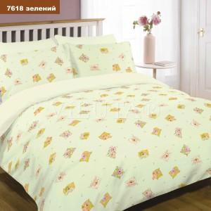 Детское постельное белье  Вилюта 7618  зеленый