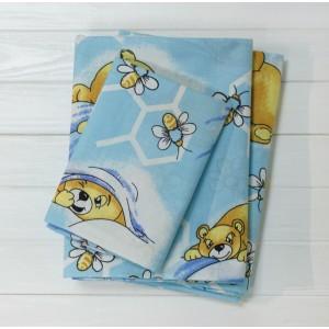 Детское постельное белье  Вилюта 7823 голубой