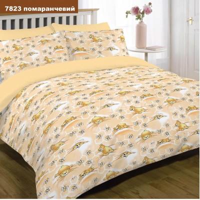 Детское постельное белье  Вилюта 7823 оранжевый