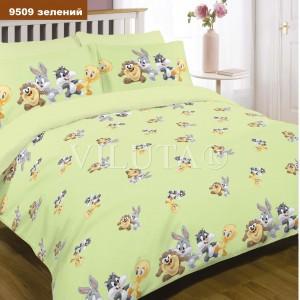 Детское постельное белье  Вилюта 9509 зеленый