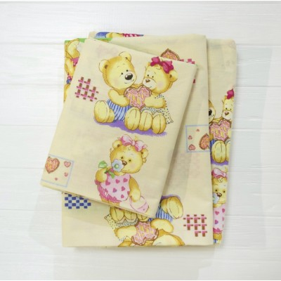 Детское постельное белье  Вилюта 4457 желтый
