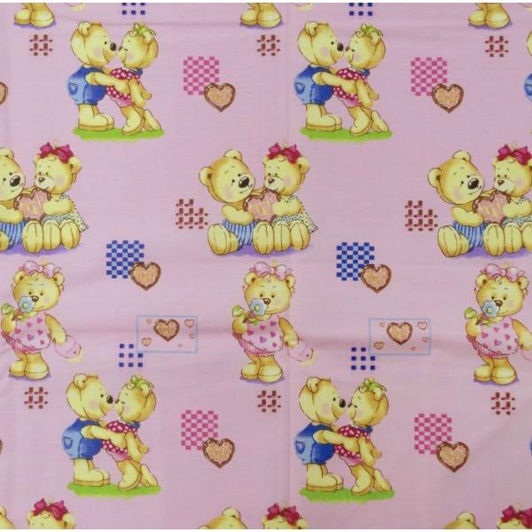 Детское постельное белье  Вилюта 4457 розовый
