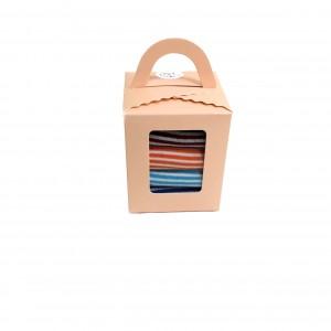 Набор женских носочков в коробочке