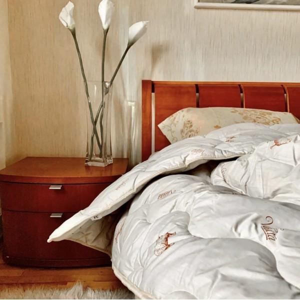 Одеяло шерстяное стеганое Premium Вилюта