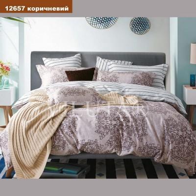 Постельное белье бязь-платинум Вилюта 12657 коричневый