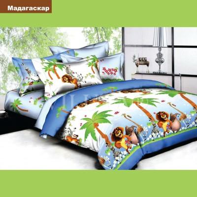 Подростковое постельное белье бязь-ранфорс Вилюта Мадагаскар