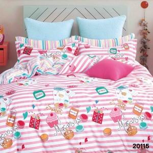 Подростковое постельное белье бязь-ранфорс 20115