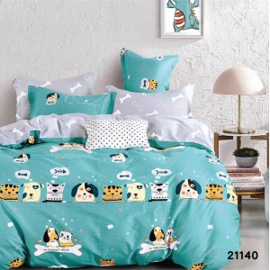 Подростковое постельное белье бязь-ранфорс 21140