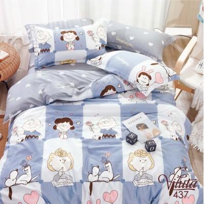 Подростковое постельное белье сатин-твил 437
