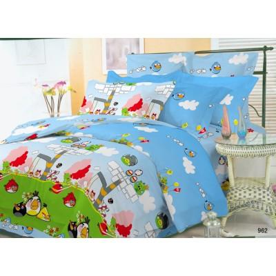 Подростковое постельное белье бязь-ранфорс Вилюта Angry Birds